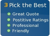 Step 3: Read review, compare job history & pick the best tradesman for your job